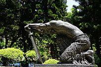 革命人物雕塑