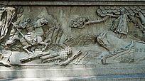 古代人物石壁画