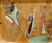 少林佛教油画