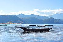 云南泸沽湖草海自然风景