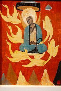 宗教人物壁画