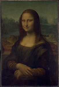 达芬奇《蒙娜丽莎》高清油画