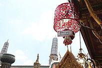 泰国大皇宫佛诞挂饰