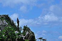 仙人踩高跷-黄山