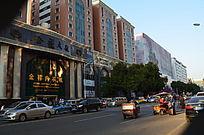 城市大楼景色图片