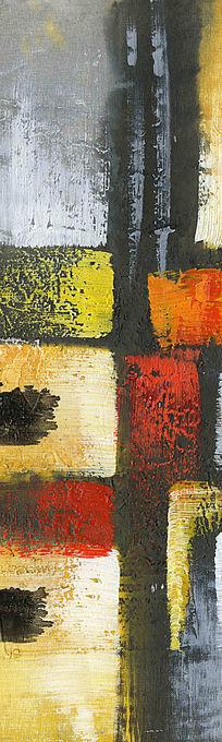 抽象画 玄关壁画