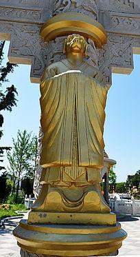 金漆石雕生肖狗