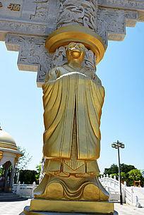 金漆石雕生肖猴