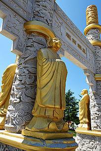 金漆石雕生肖虎