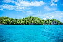 美丽的帕劳度假风景