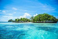 帕劳的蜜月海湾