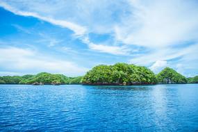 帕劳美丽的海洋