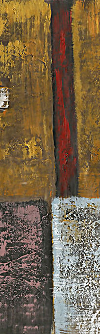 抽象油画背景墙
