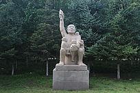 民族团结艺术雕塑