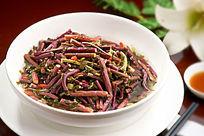 雪菜烧蕨菜