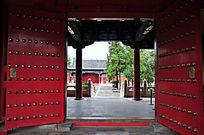 北京历代帝王庙博物馆大门