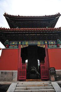北京历代帝王庙博物馆东南碑亭