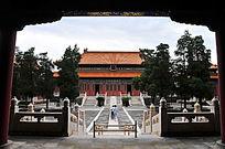 北京历代帝王庙博物馆景德崇圣殿