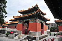 北京历代帝王庙博物馆正东碑亭