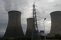 工业城市风光之火力发电厂