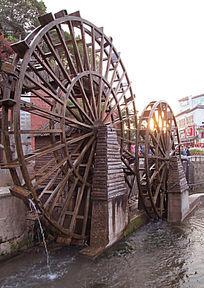 丽江古城的标志性建筑
