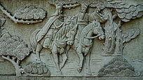 三国故事人物壁画