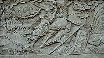 三国人物雕像