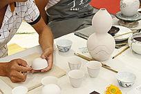 手工绘制瓷器工艺