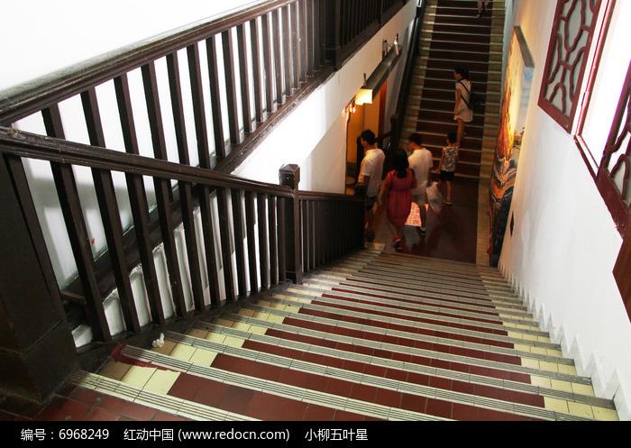 双向大理石楼梯高清图片下载 编号6968249 红动网