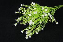 塑料小白花花束