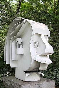 爱因斯坦艺术雕塑