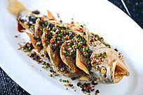 干煎豉汁大黄鱼