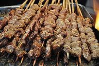 美味的新疆羊肉串