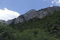 石卡雪山山峰