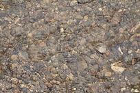 水纹河卵石背景素材