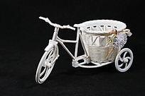 塑料的自行车装饰篓