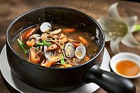 笋干菜河虾蛤蜊