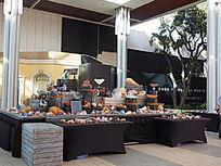 贝壳商品展览台
