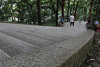 公园景观楼梯