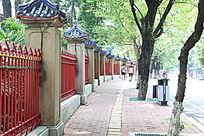 古典铁围栏