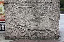 古时交通工具雕塑