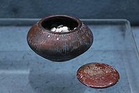 隋朝酱釉围棋罐