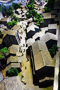 乡村建筑模型
