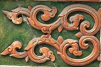 古典花纹图案背景