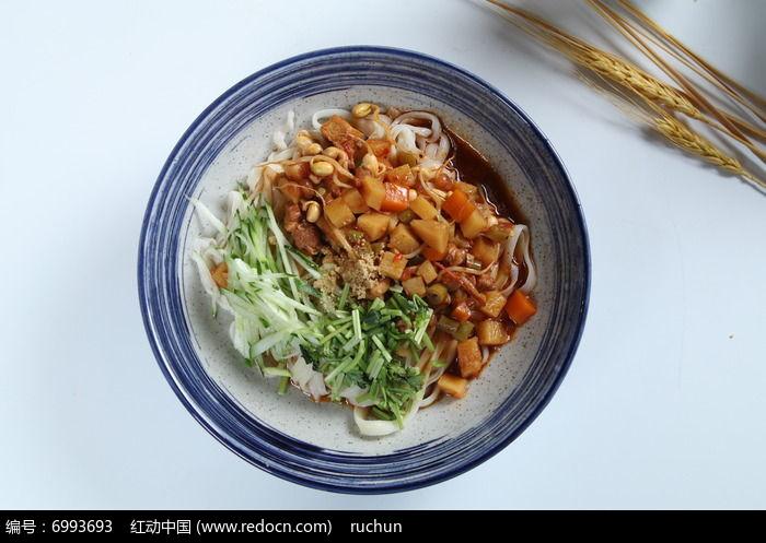 豆芽青瓜面图片