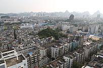 柳州市鱼峰区鸟瞰图
