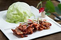茭芦菜包肉