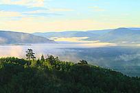 山林云海风景