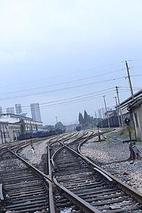 铁轨 中山码头