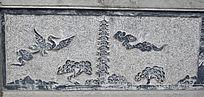 祥鸟与佛塔石雕-雕刻艺术